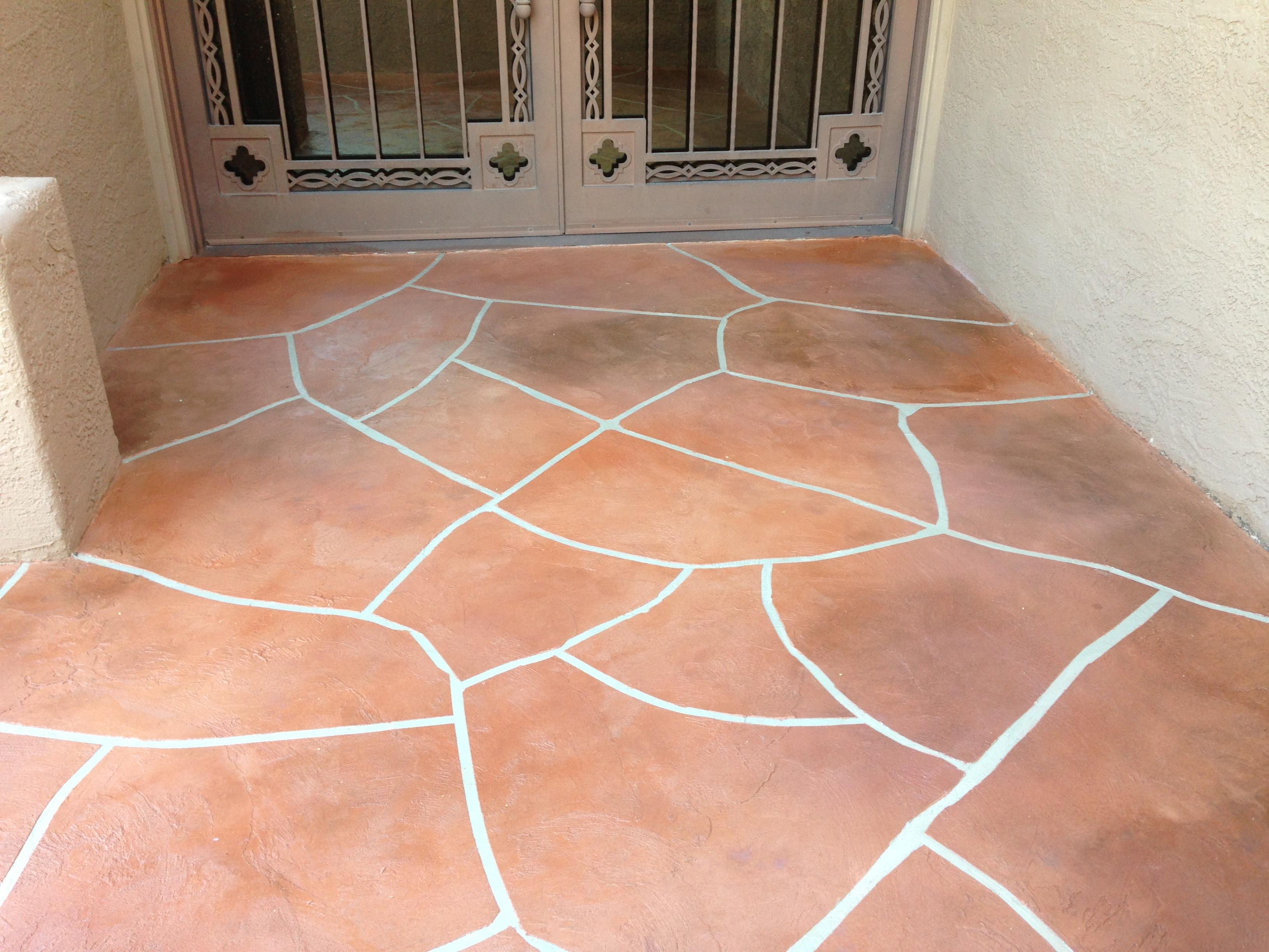 Decorative Concrete Overlay Tucson Concrete Finishes Decorative Concrete Flooring Overlays