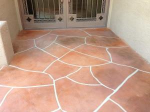 Flagstone Concrete Overlay - Tucson, AZ