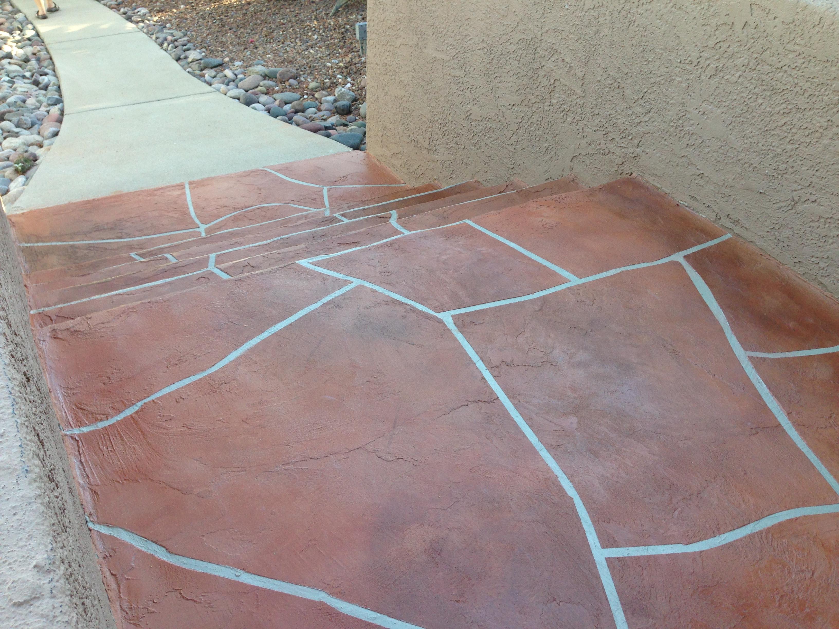 Decorative Concrete Overlay Tucson Concrete Patio Decorative Concrete Flooring Overlays