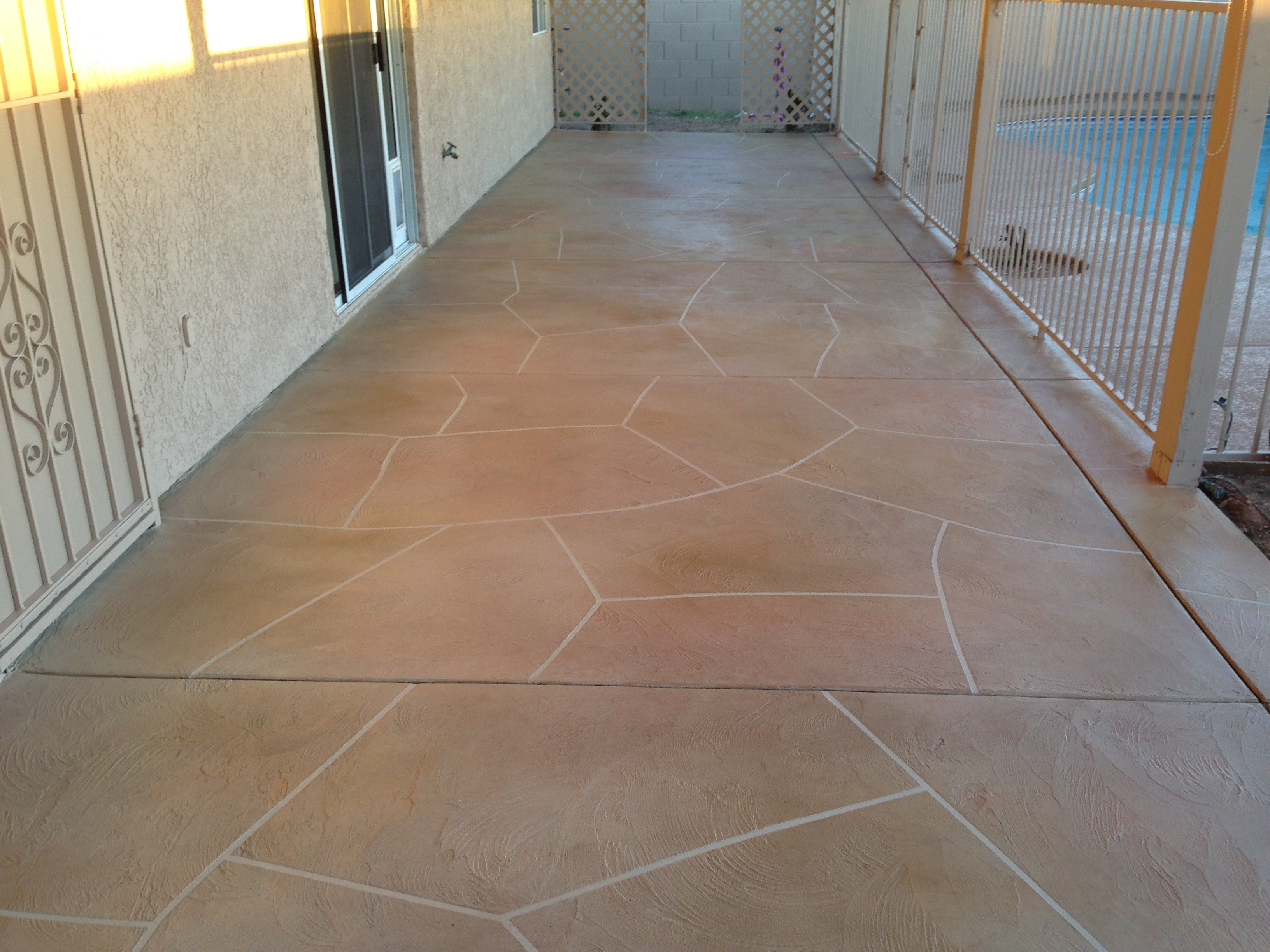 Decorative Concrete Flooring Overlays Arizona Concrete
